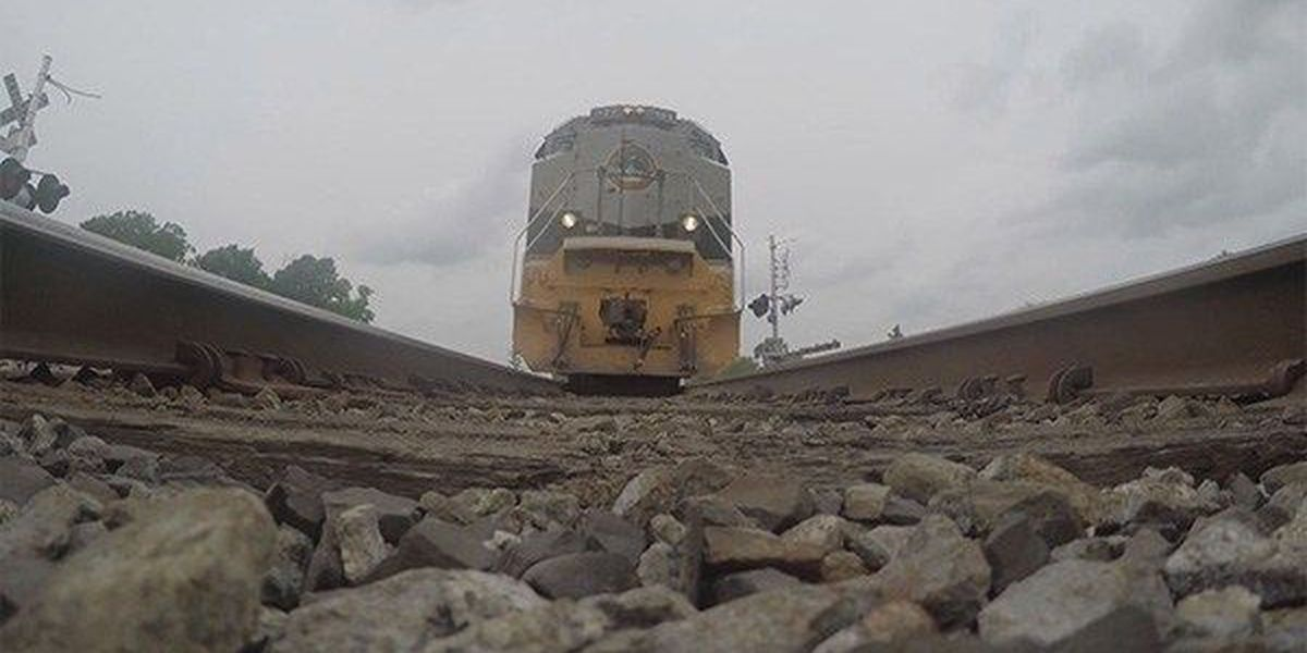 Train stalled in Sorrento after car pulls out on tracks; driver injured