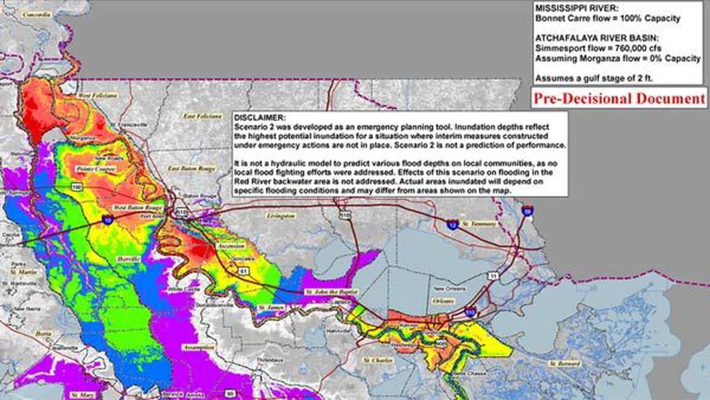 New Quotdoomsday Scenarioquot Map From The Corps Explained - Us-army-corps-of-engineers-district-map