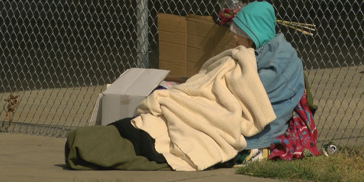 As cold sets in across Baton Rouge, those without a home thankful for shelters