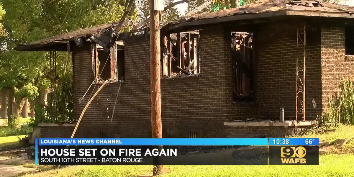 Second fire started at a vacant house on 10th Street