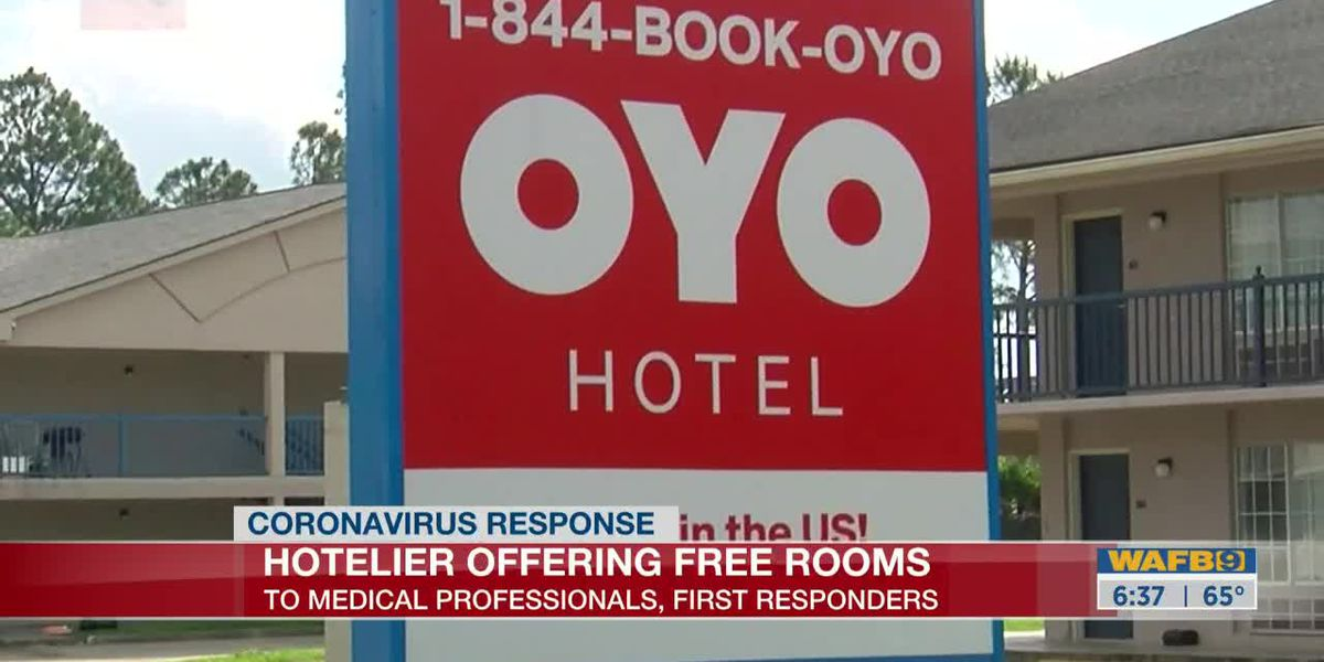 Local hotelier offers free hotel rooms for healthcare workers - 6:30 a.m.