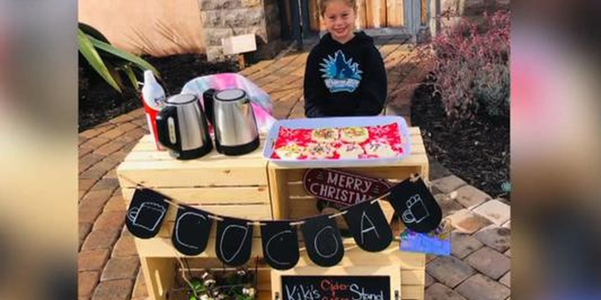 Calif. girl sells cookies, cocoa to cover lunch debts