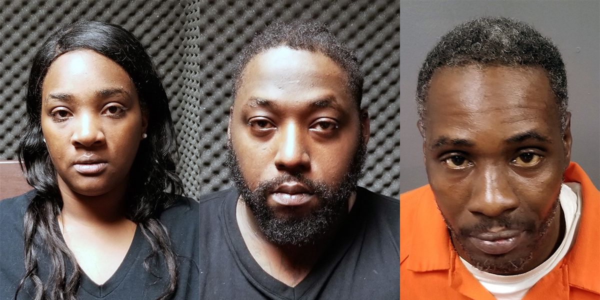 3 Arrested After Allegedly Stealing More Than 35k From Home