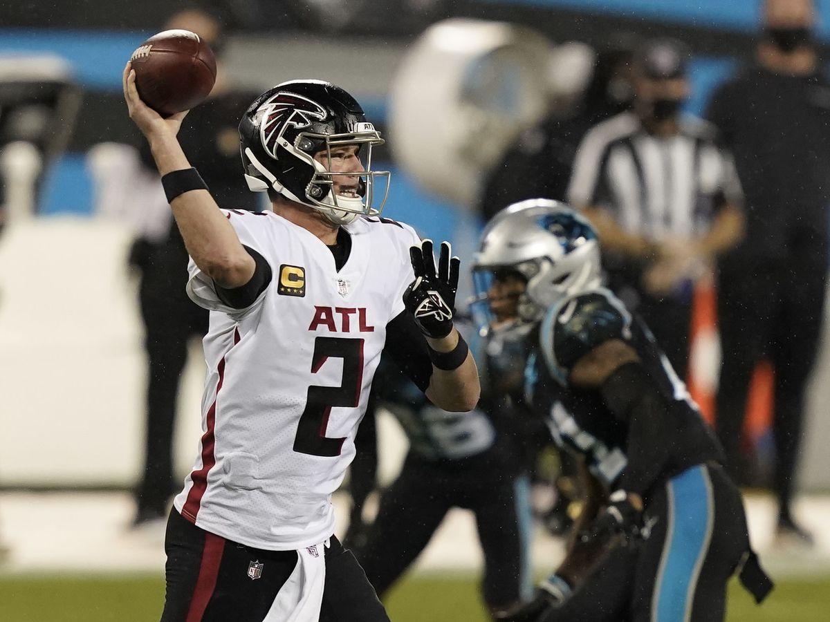 Atlanta Falcons roll over Carolina Panthers on Thursday Night Football