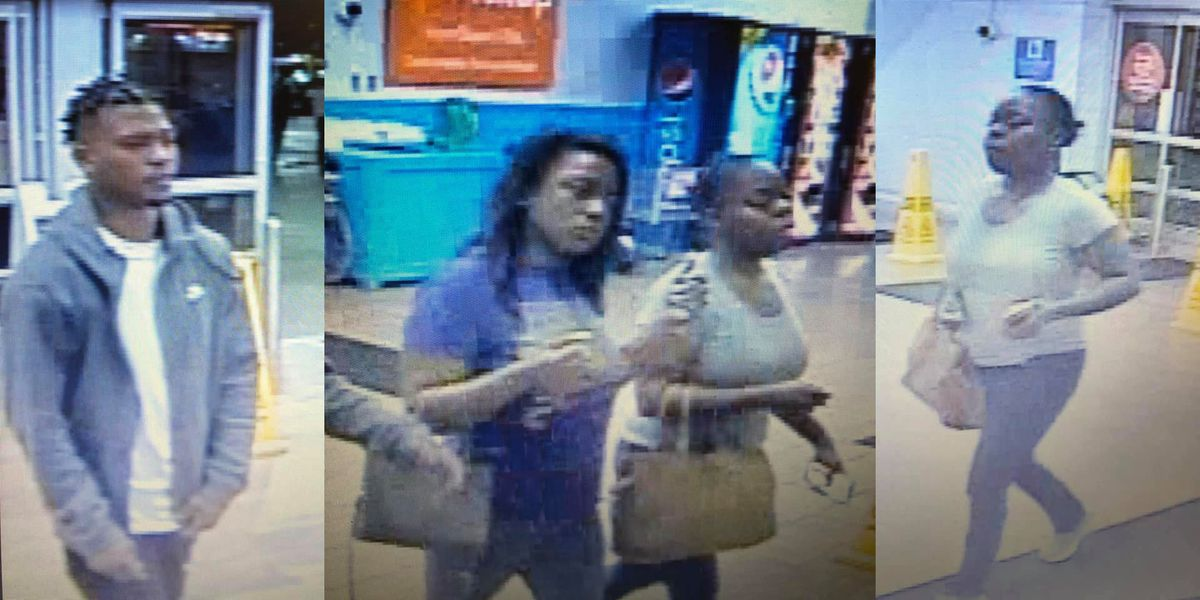 WANTED: Trio accused of stealing $1,500 in electronics
