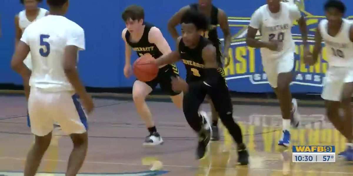 U-High blows out East Ascension in basketball