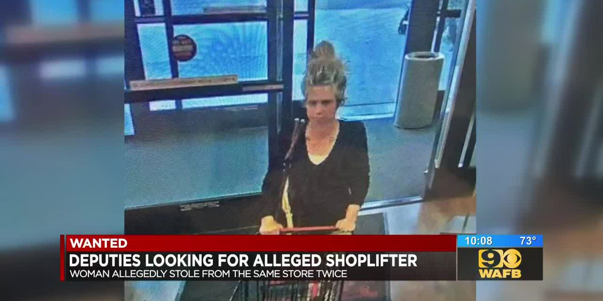 Woman accused of stealing from same store twice