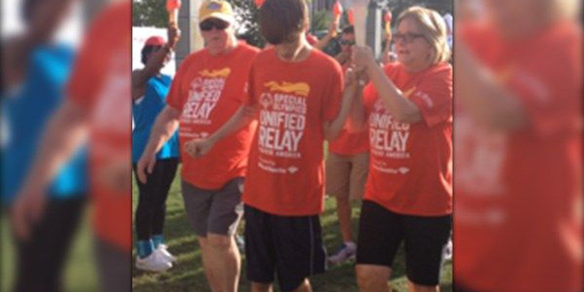 From La. to LA: The Special Olympics Torch makes a stop in Baton Rouge
