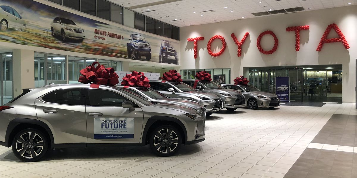 OLOLCH 'Driving the Future' winners select their new vehicles