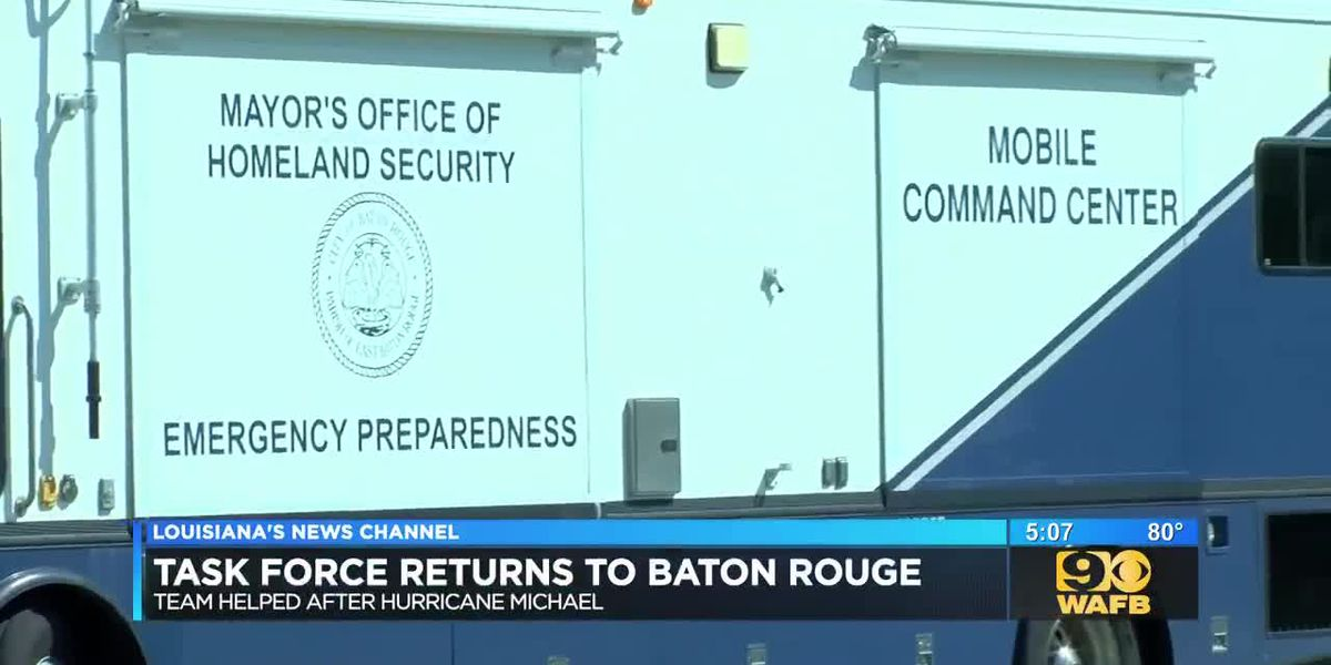 Task Force returns to Baton Rouge