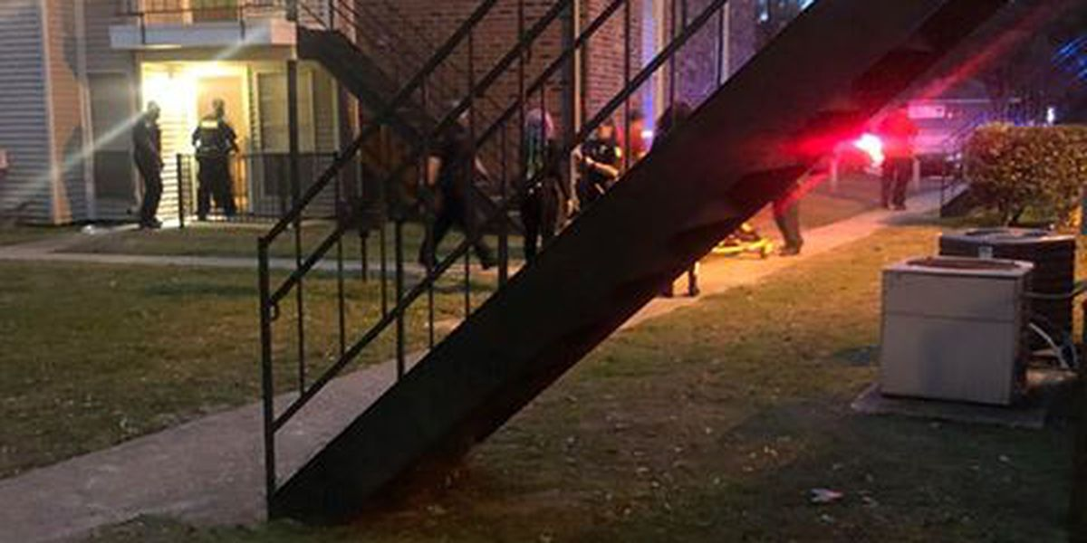One person critical after apartment complex shooting near Coursey Blvd