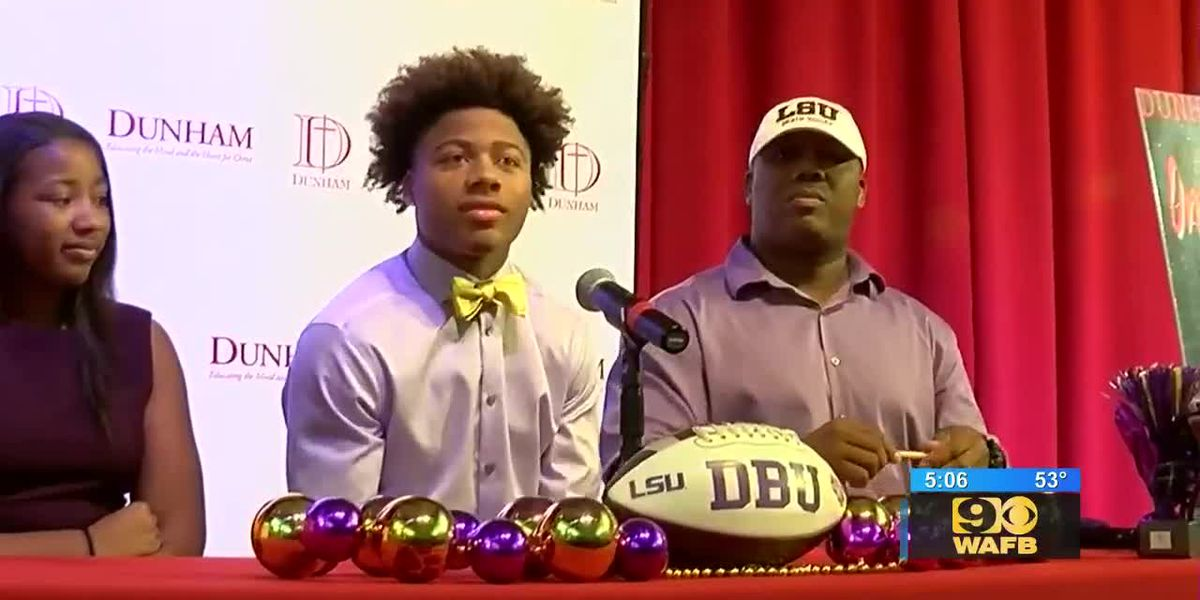 High school players in Baton Rouge commit to universities for National Signing Day - LSU