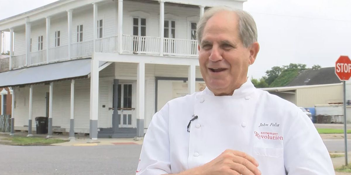 Chef John Folse to be given lifetime achievement award
