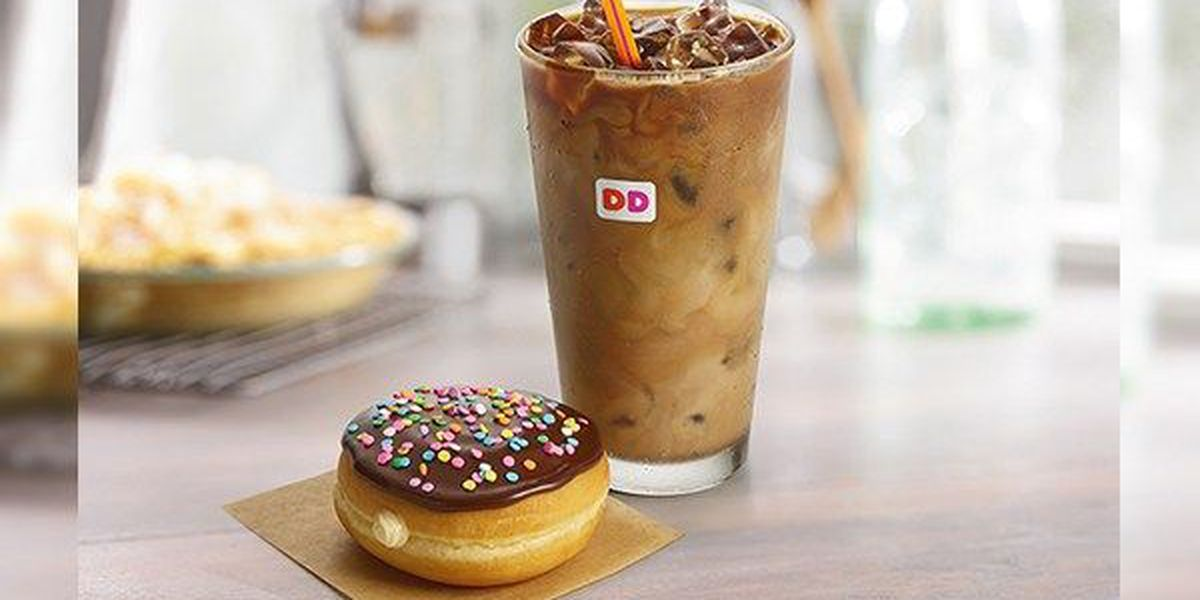 Dunkin' Donuts giving away free donuts on Friday, June 2
