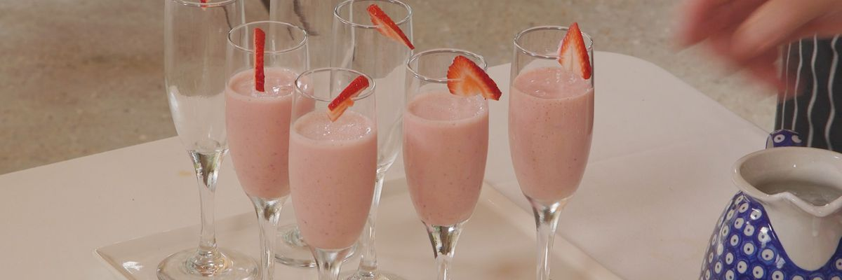 Sweet and Sassy Strawberry Soup
