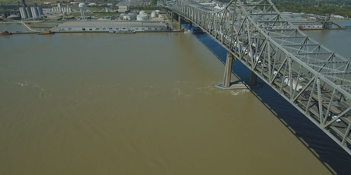 Deepening of the Mississippi River from 45 to 50 feet has been authorized