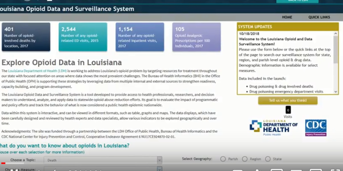 Louisiana launches new digital tool to enhance fight against opioid crisis