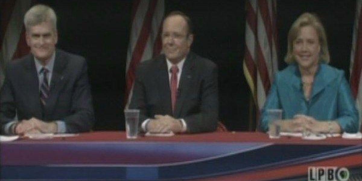 Landrieu, Cassidy, Maness face off in debate
