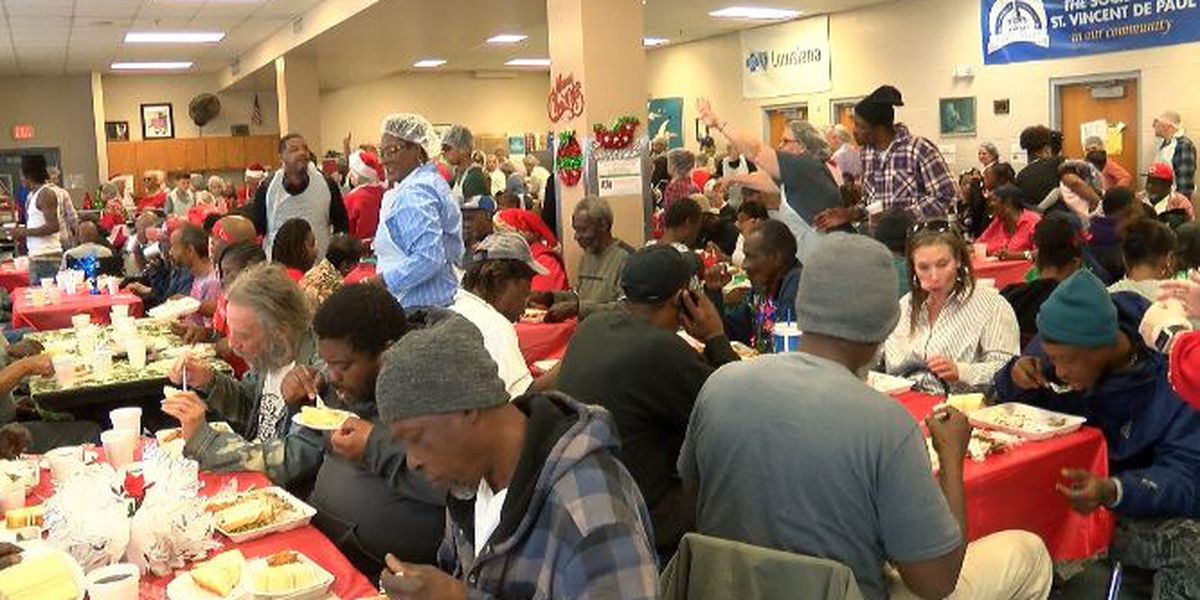 Meals, clothes, and more given out to less fortunate on Christmas by St. Vincent de Paul