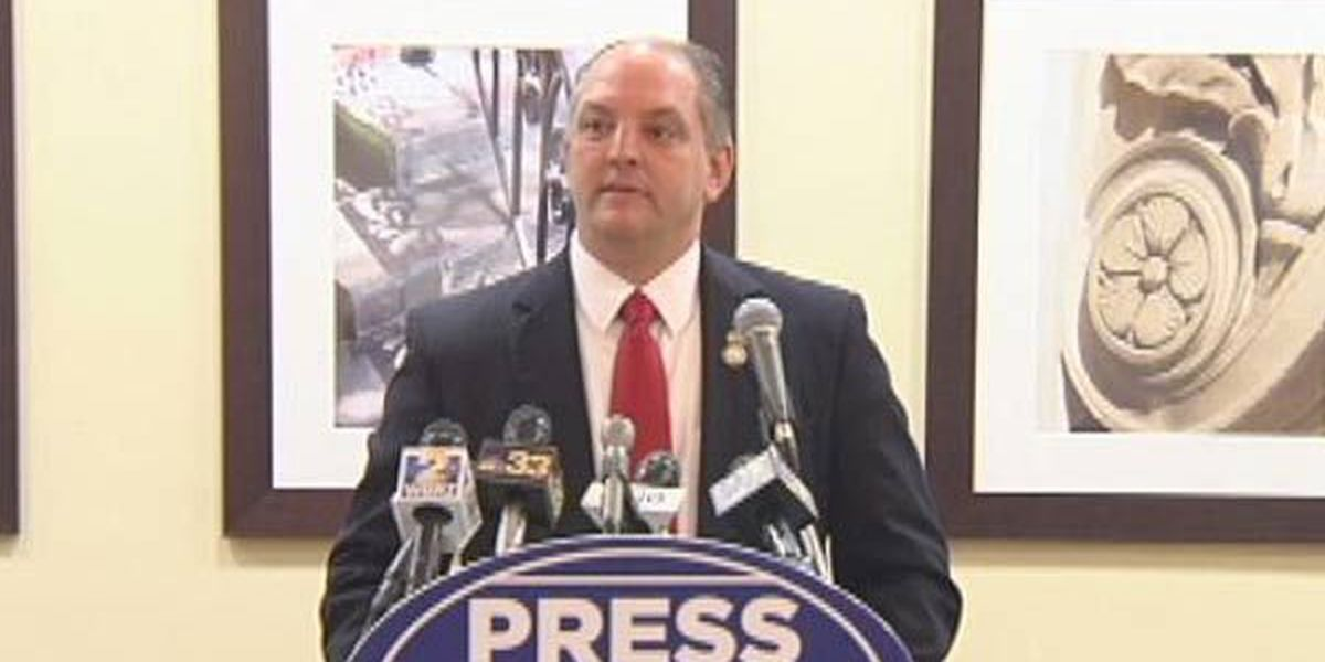 John Bel Edwards says he would fund higher education, accept Medicaid expansion