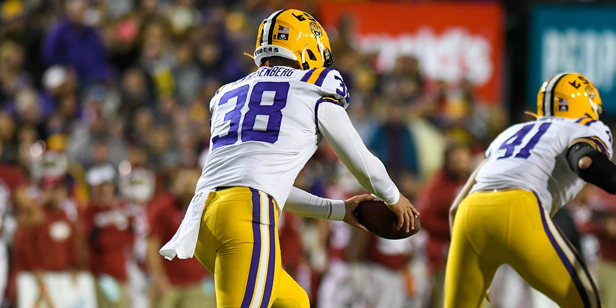 LSU P Zach Von Rosenberg named Punter of the Week