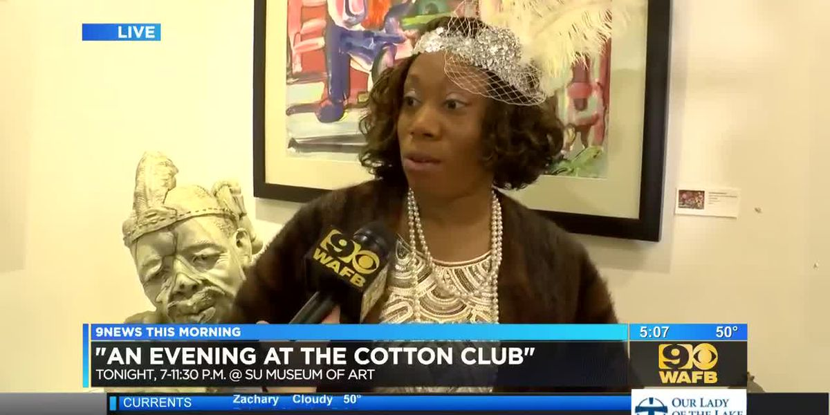 "SU Museum of Art to host ""An Evening at the Cotton Club"" - 5 a.m."