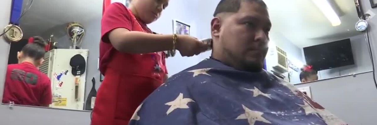 'She is going be the coldest': Girl, 7, shines as barbershop phenom