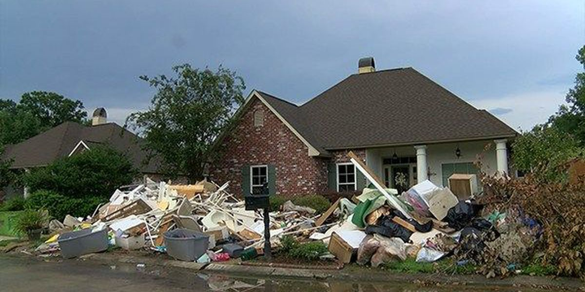 Ascension Parish waives permit fees for flood-damaged structures