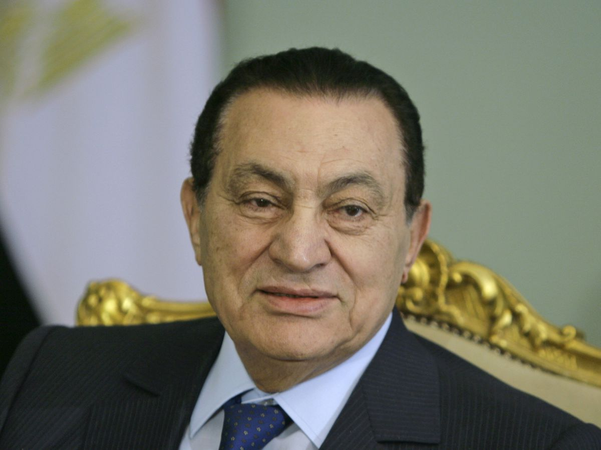 Mubarak, Egypt's autocrat ousted in uprising, dies at 91