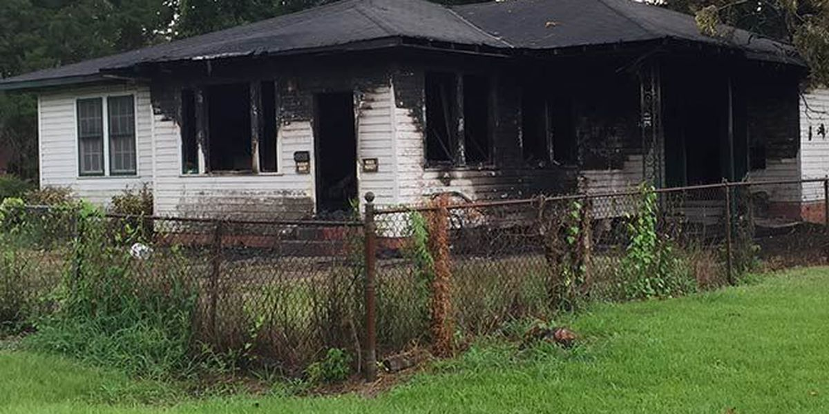Knocked over candle sets one alarm house fire