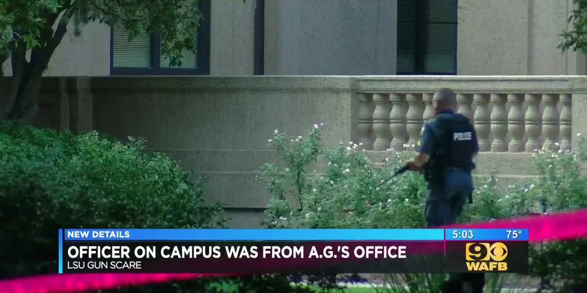 Officer on LSU campus that sparked scare was with AG's office, was doing safety class