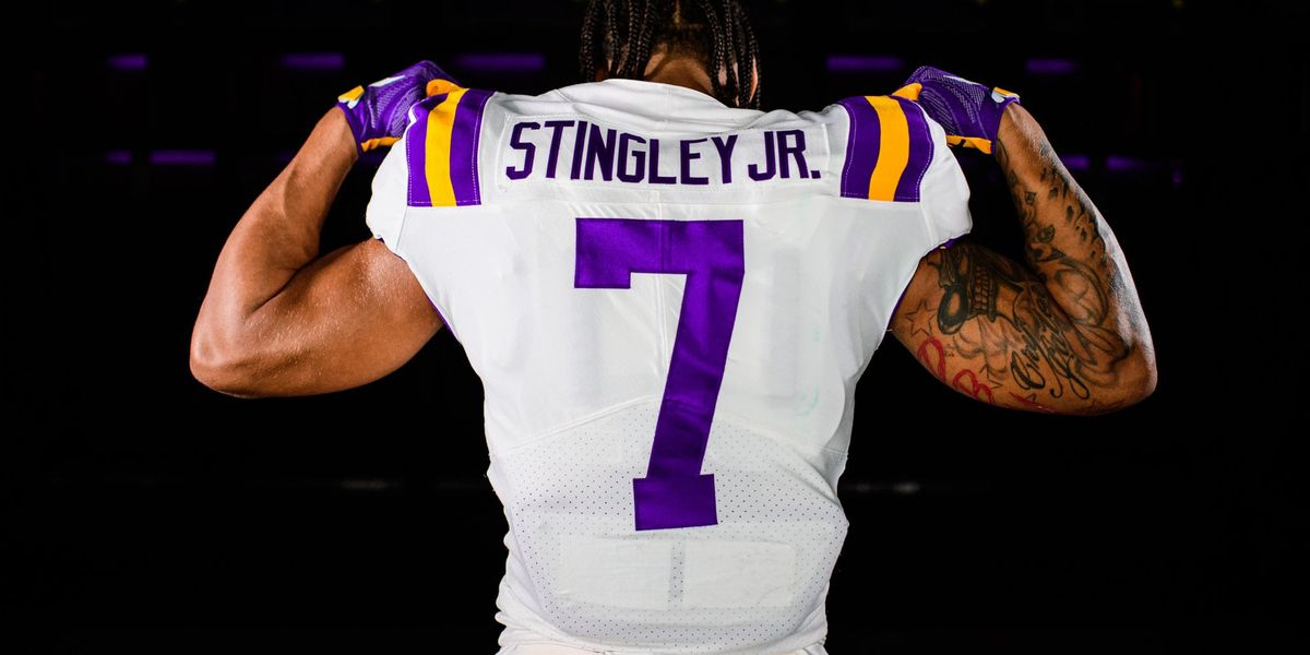 All-American CB Derek Stingley Jr. to wear No. 7
