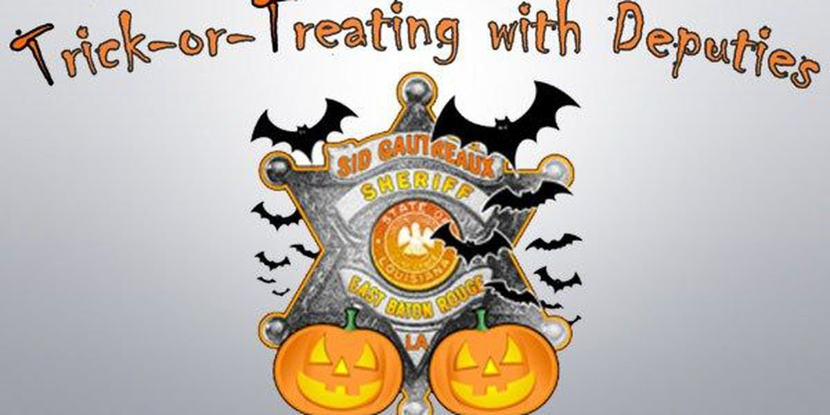 EBRSO to host 8th annual Trick-or-Treat with Deputies