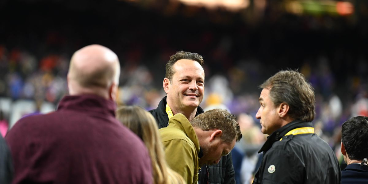 Celebrities attend CFP National Championship game