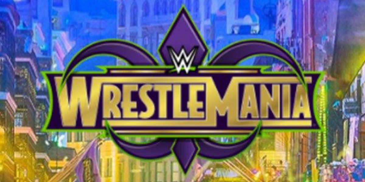 Reserved parking for WrestleMania 34