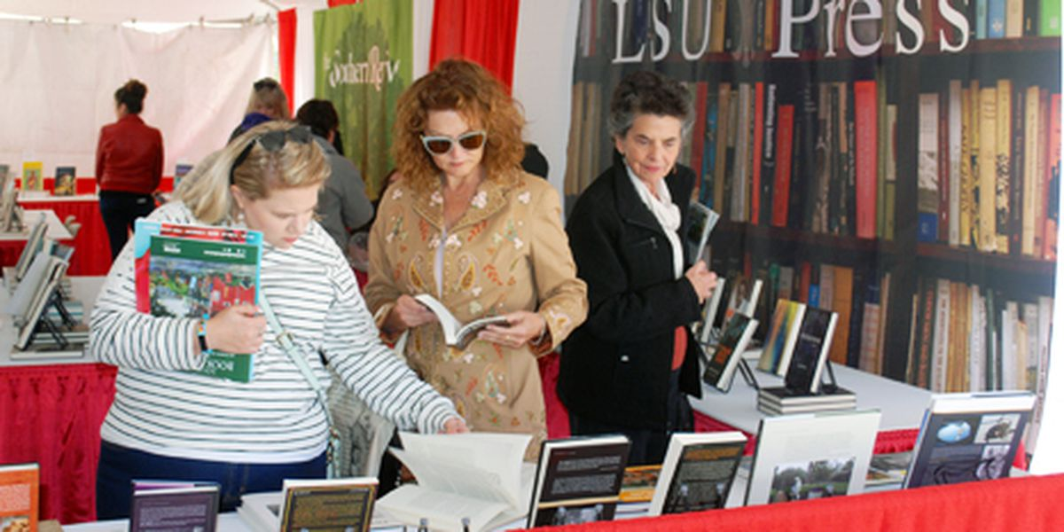 Louisiana's annual book festival is looking for volunteers