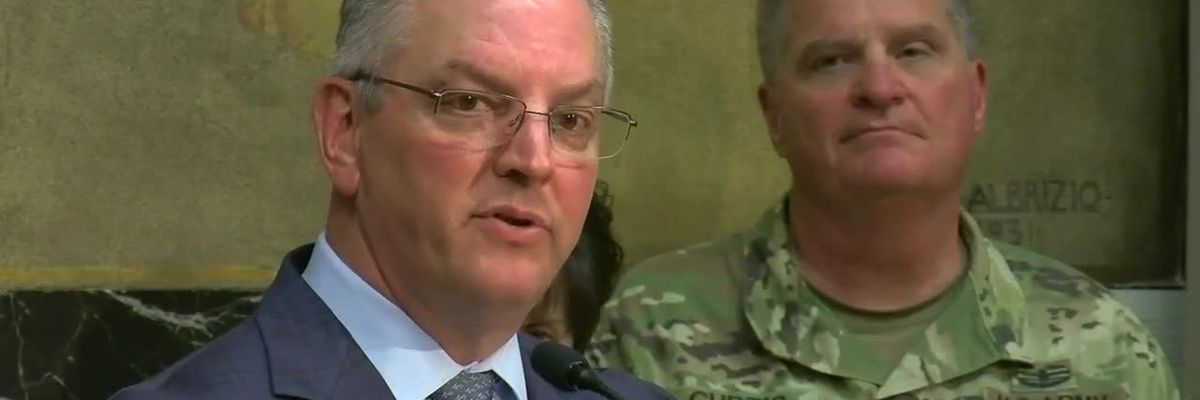 FULL VIDEO - Governor Edwards holds news conference on likelihood of Morganza Spillway opening