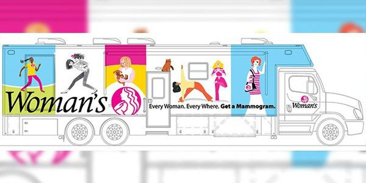 Woman's Hospital gets second mammography bus to save lives across La.