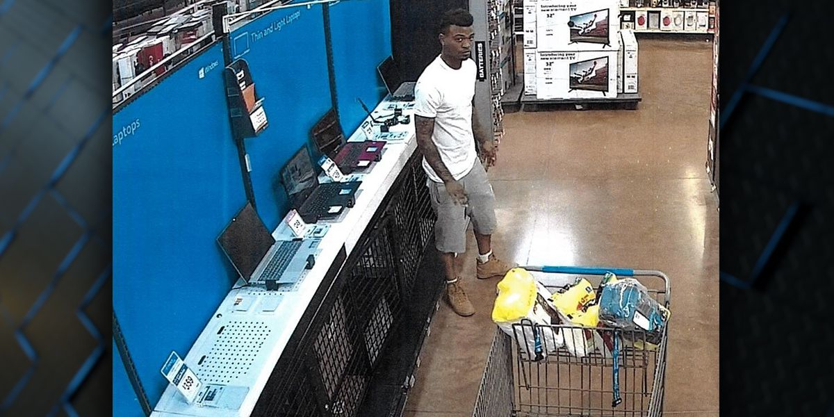 WANTED: Man accused of stealing laptops from Walmart