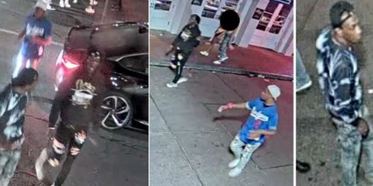 UPDATE: Trio sought for questioning in Bourbon Street shooting that injured 5 people