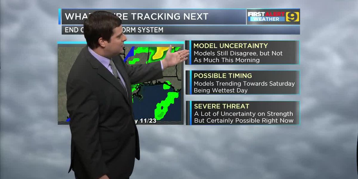 FIRST ALERT 7 P.M. FORECAST: Sunday, Nov. 17