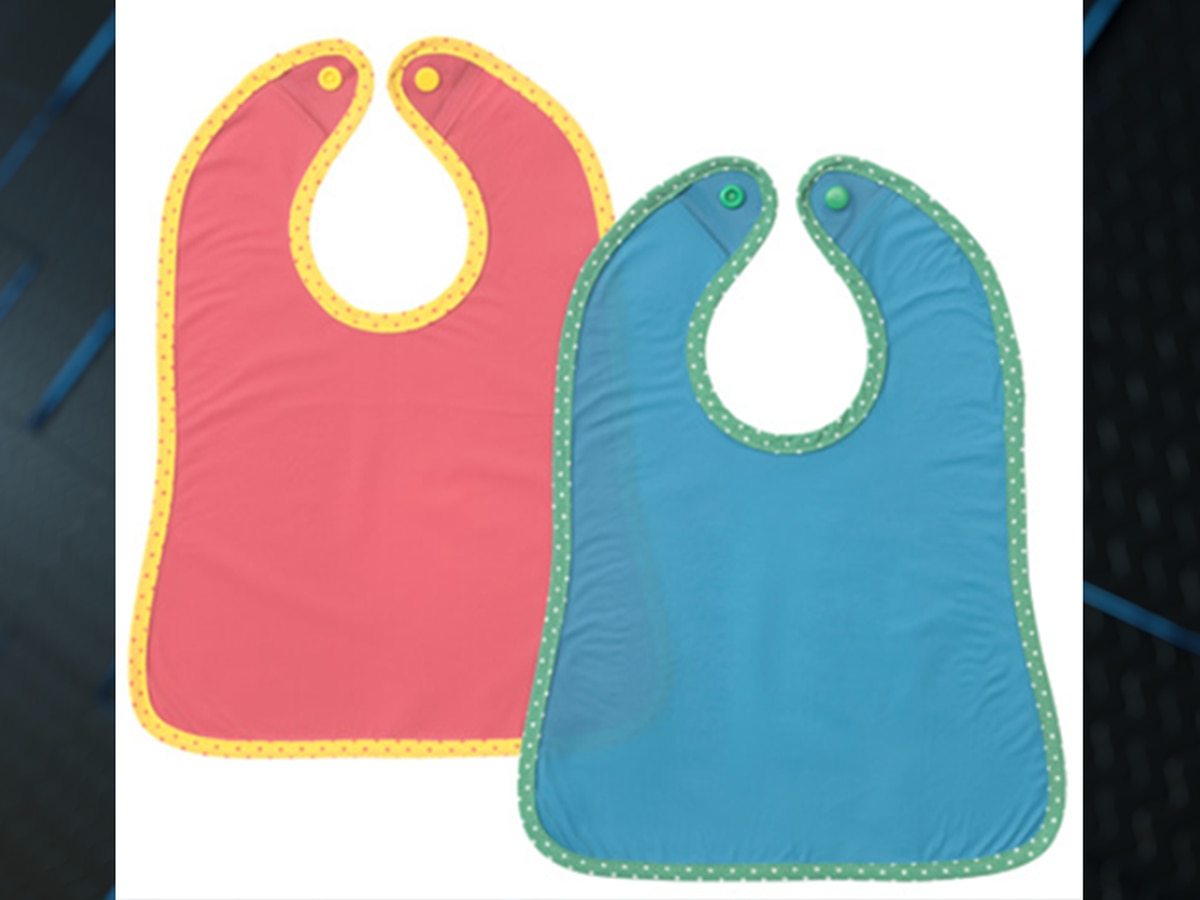 Infant bibs recalled due to choking hazard