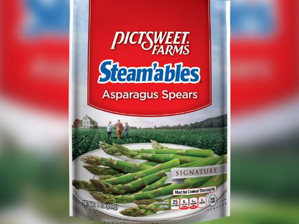 Frozen asparagus recalled over listeria concerns