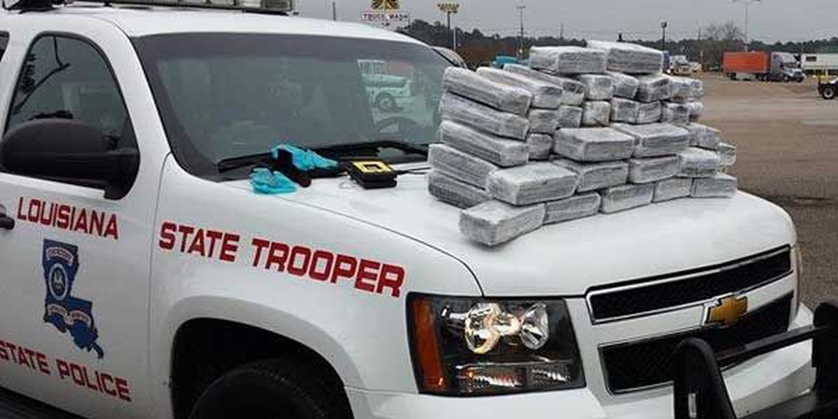200 pounds of marijuana found in vehicle during traffic stop