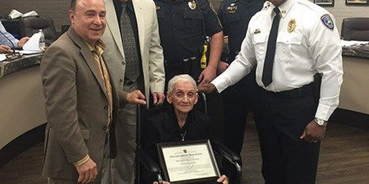 Gonzales PD honors first female peace officer