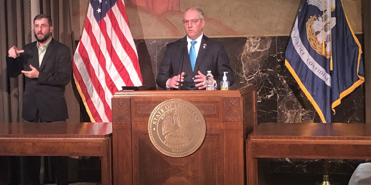 Gov. Edwards: 'We still have a long road ahead of us to full recovery'