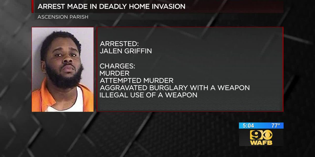 Second suspect arrested in connection to deadly home invasion in Ascension Parish