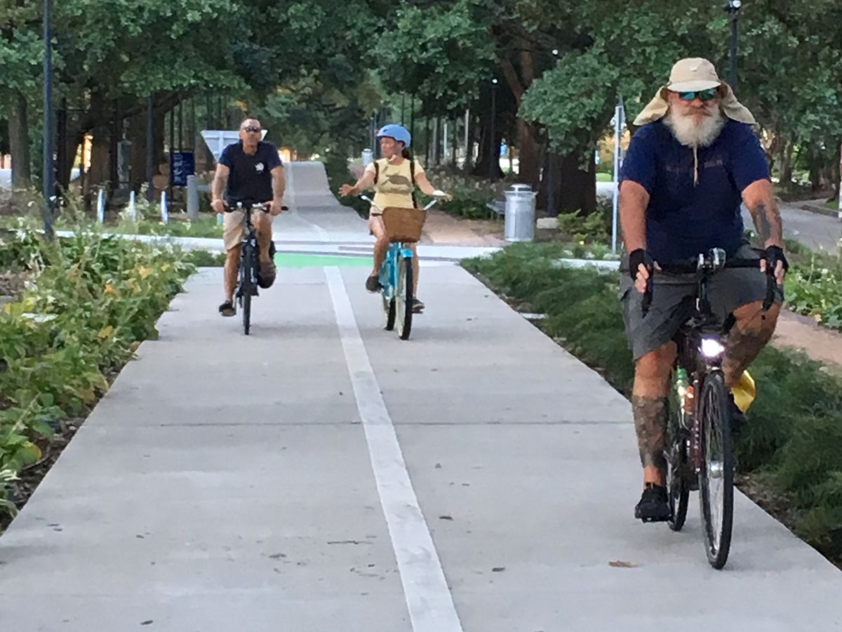 Bike BR creates petition calling for an end to ban on residents biking to drive-thrus