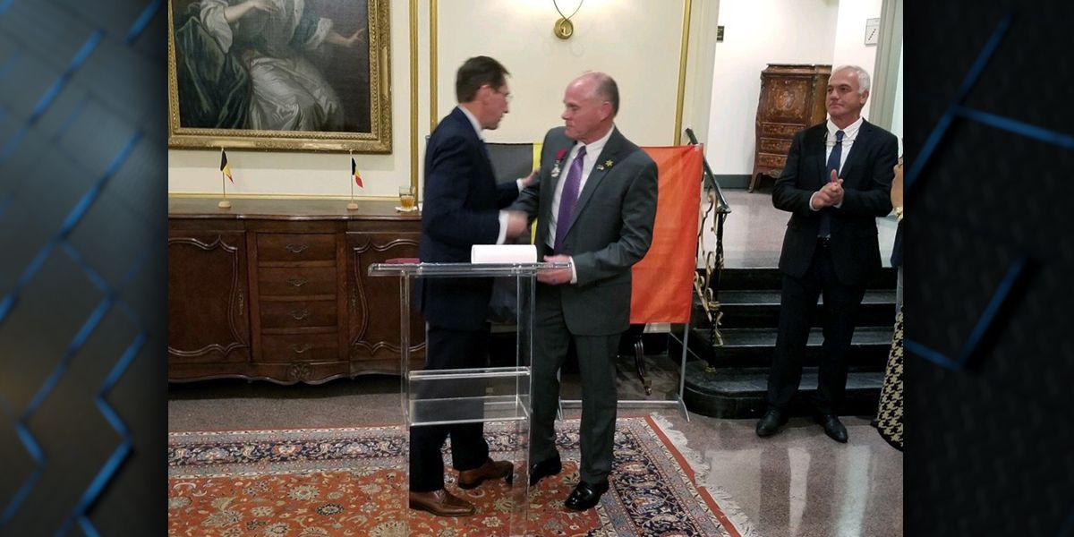 EBRSO major who played pivotal role in capture of Oscar Lozada honored by Belgium