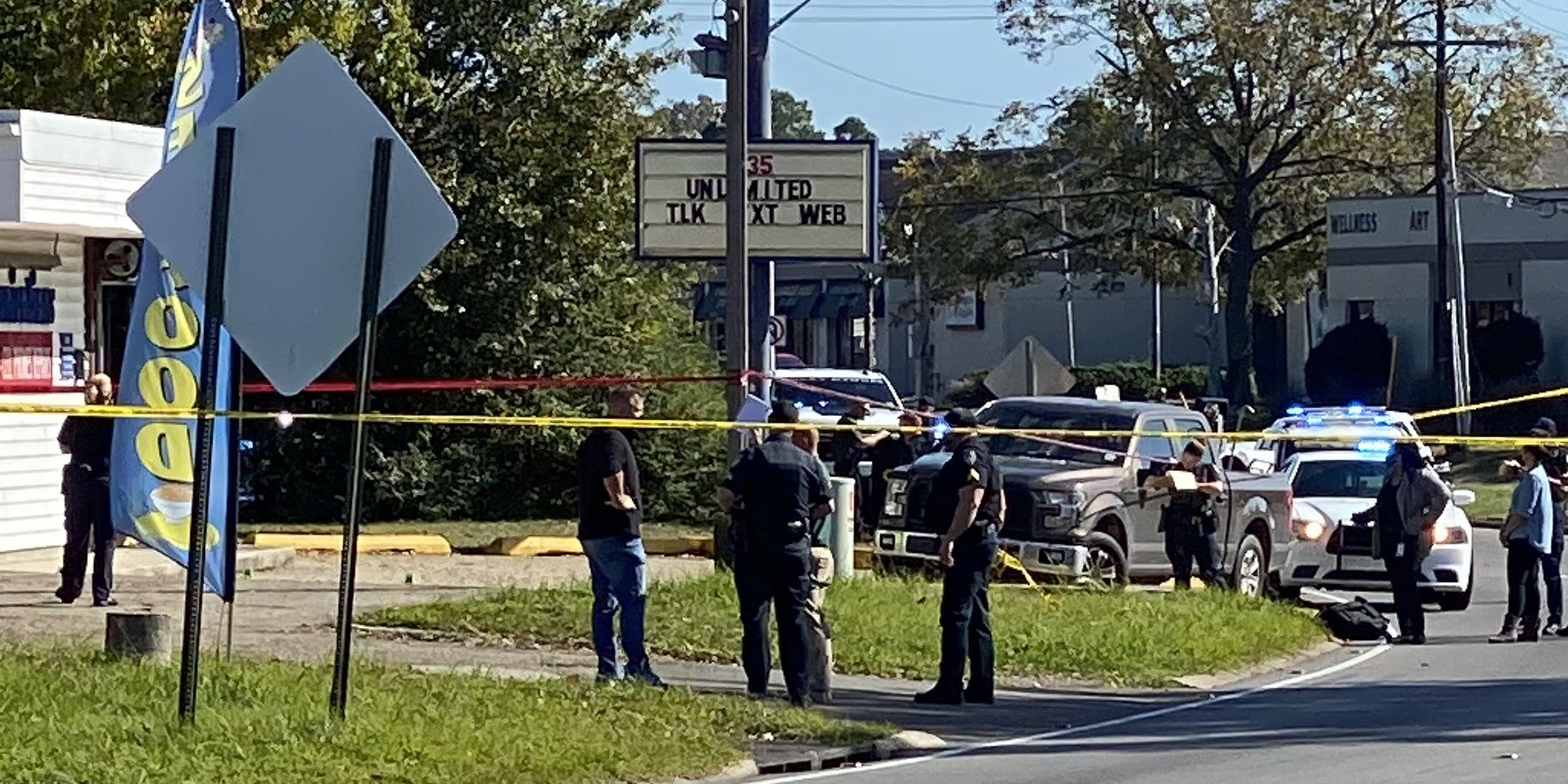 Police searching for possible shooter responsible for double fatal shooting on Sherwood Forest Blvd.